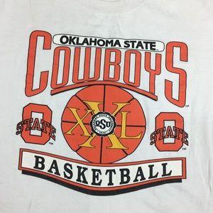 Vintage OSU Oklahoma State University Cowboys XL